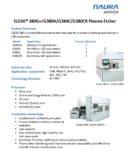 ELEDE® 380G+/G380A/G380C/G380CR Plasma Etcher