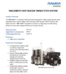 NMC508DTE Deep Silicon Trench Etch System