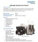 NMC508C Silicon Etch System