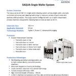 SAQUA Single Wafer System